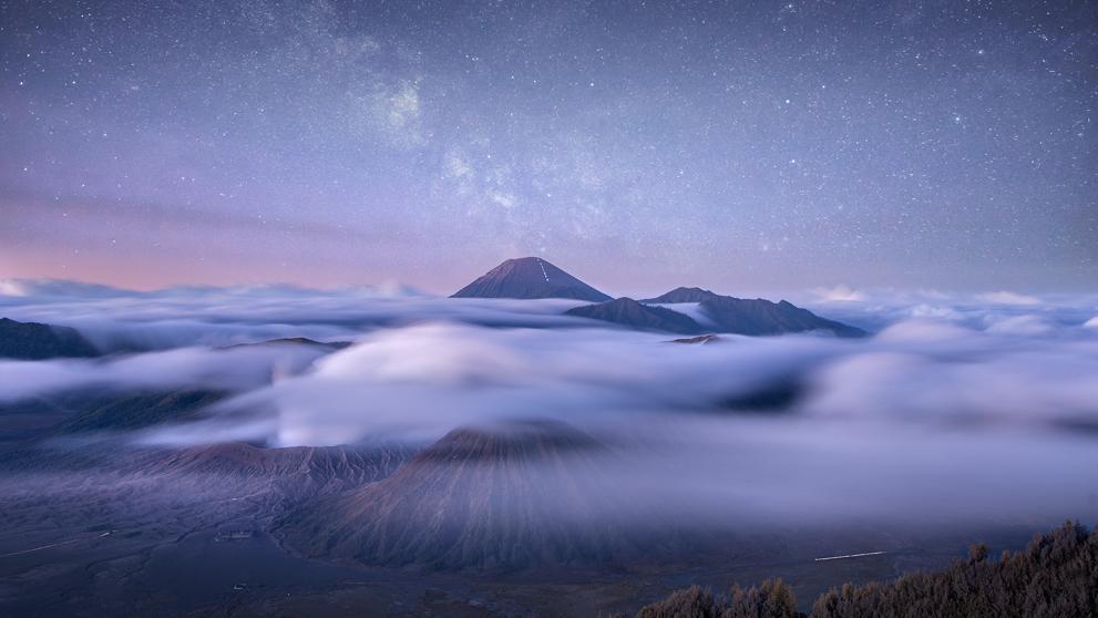Nubes cósmicas, la foto de Donald Yip, elegida como mejor foto de paisajes