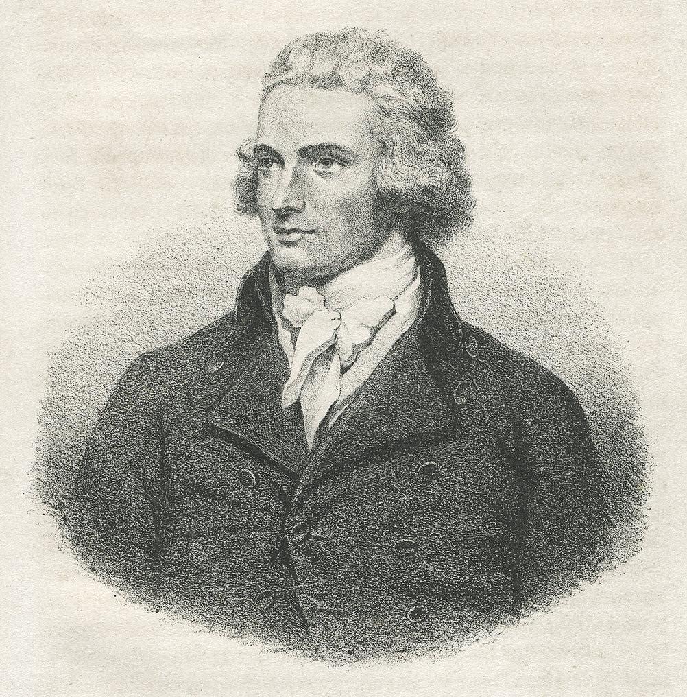 Retrato de Mungo Park, explorador y médico escocés