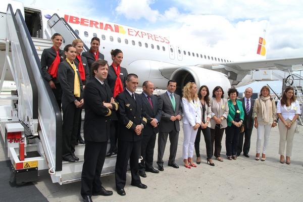 Tripulación de Iberia Express.