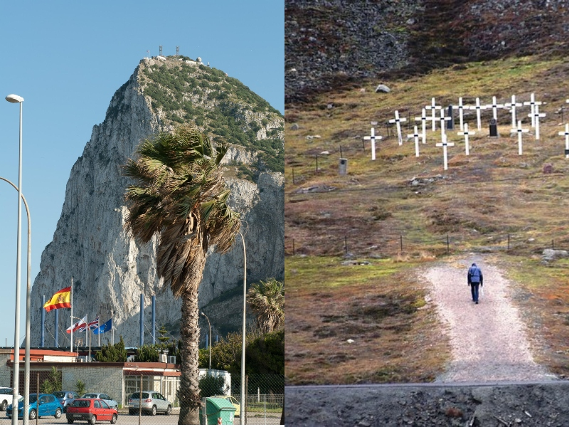 Visitamos Gibraltar y un peculiar cementerio en Noruega