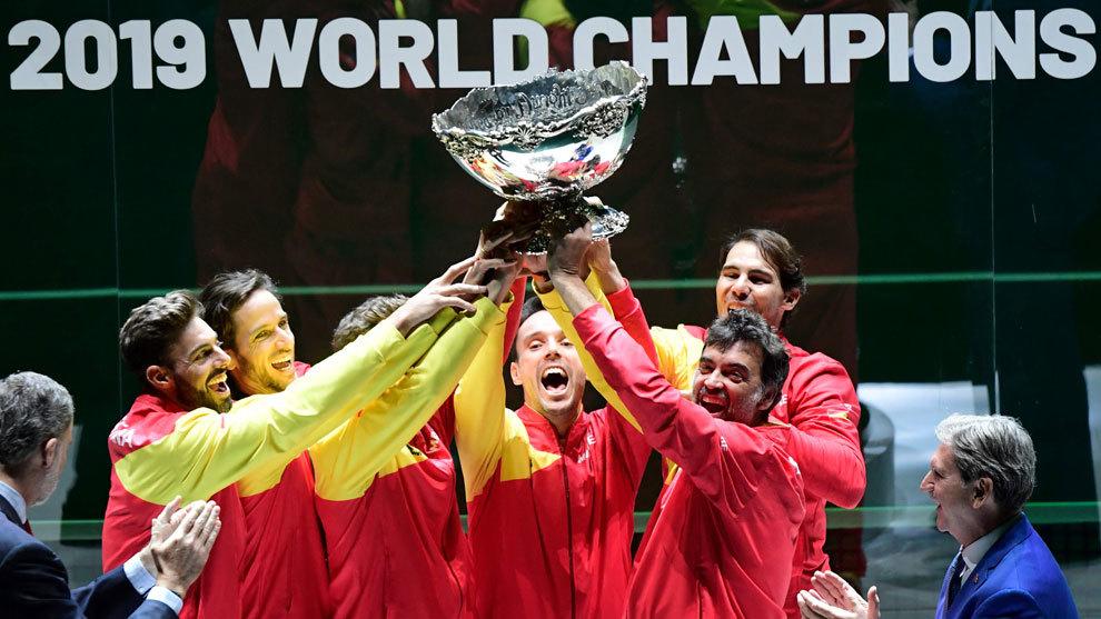 España, campeona de la Copa Davis 2019