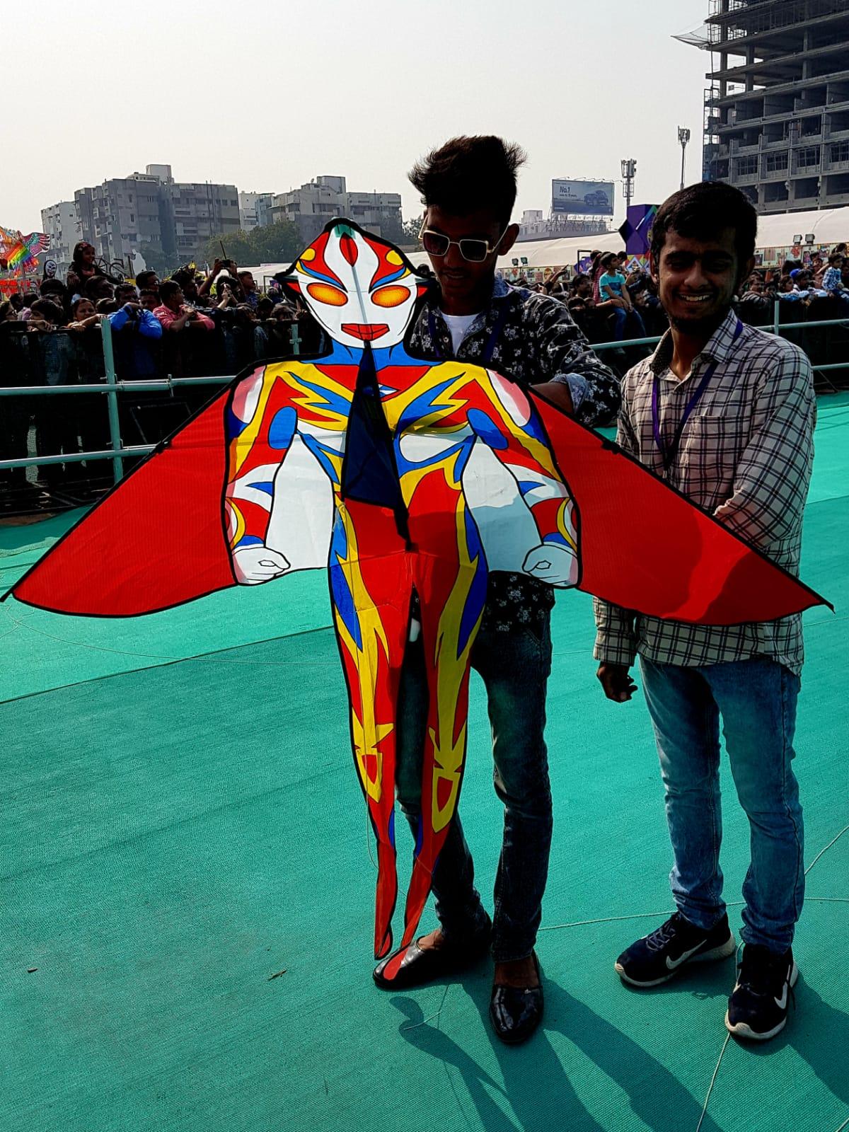 Festival Internacional de Cometas en Ahmedabad, India