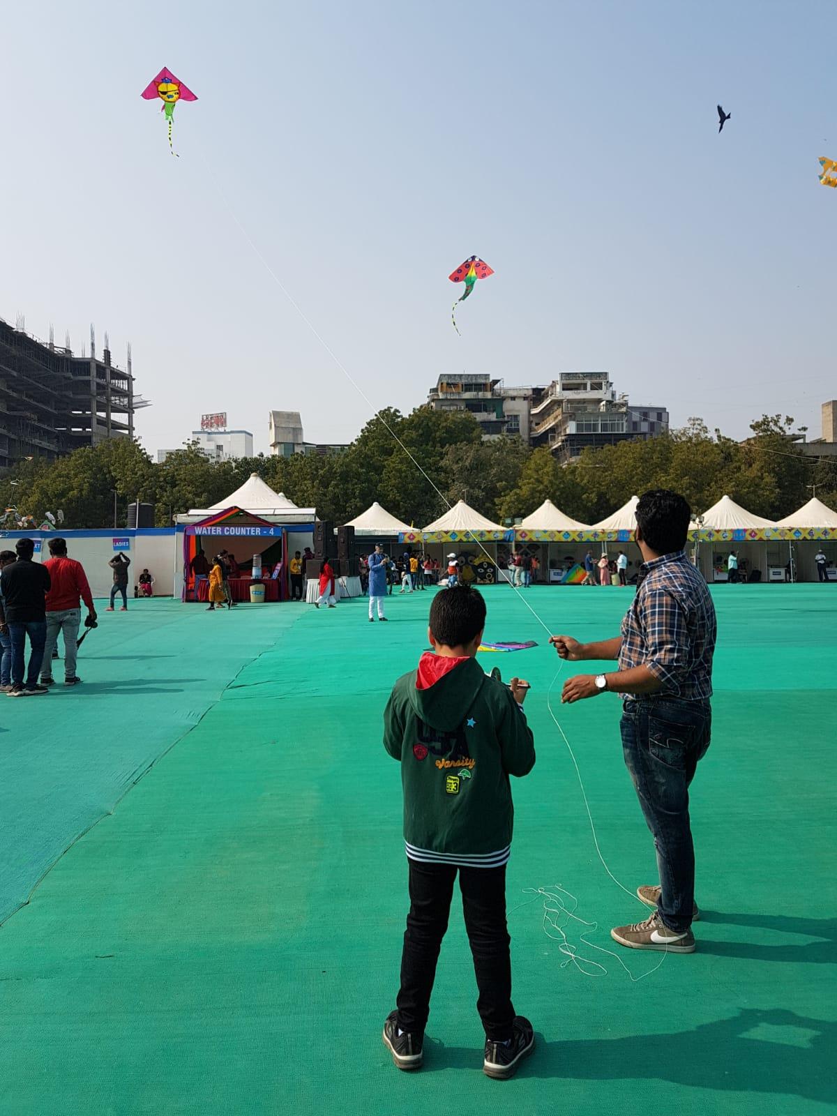 Festival Internacional de Cometas en Ahmedabad (India)