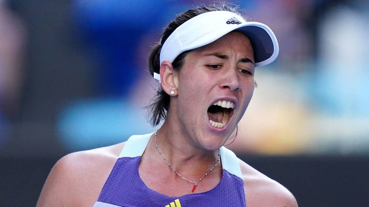 Garbiñe Muguruza alcanzó la final del Open de Australia 2020