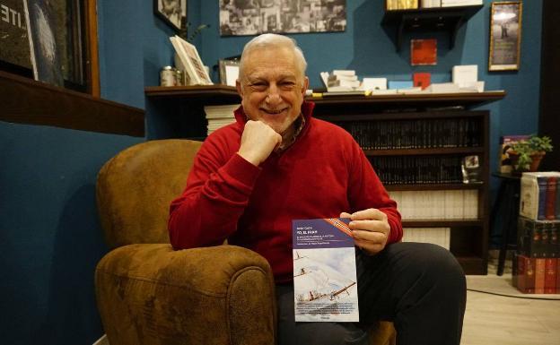 Javier Cacho, autor de Héroes de la Antártida