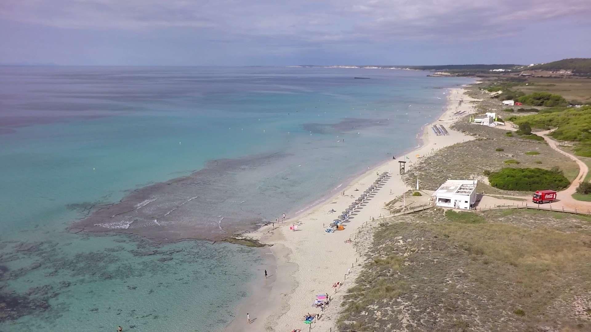 Playa de Son Bou, Alaior (Menorca)