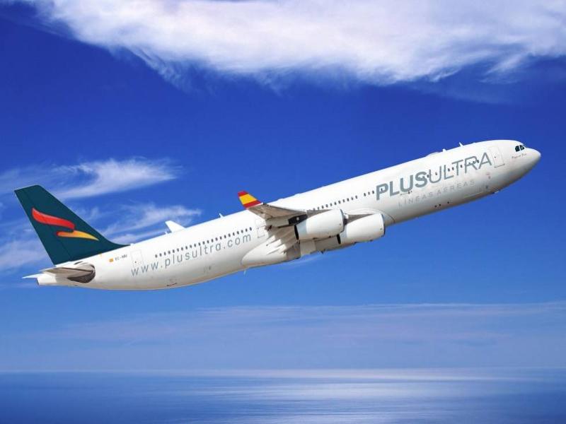 Plus Ultra Líneas Aéreas, aerolínea 100% española que ha traído material sanitario desde China
