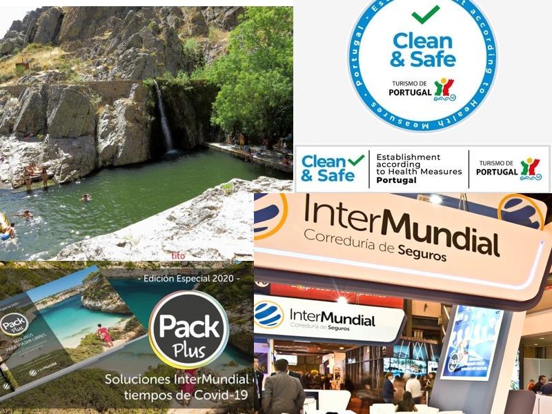 PORTUGAL instala el sello Clean & Safe para sus actividades turísticas preparadas ante el coronavirus.  InterMundial Seguros presenta 'Pack Plus' para viajar sin preocuparte del covid-19