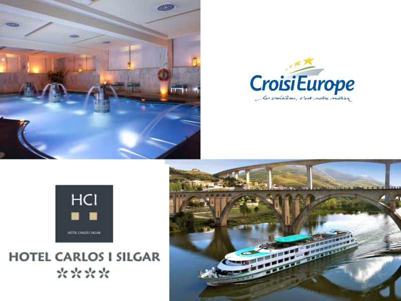 Nos alojamos en el Hotel Carlos I Silgar de Sanxenxo y hacemos un crucero fluvial con CroisiEurope