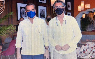Entrevista exclusiva con Luis Abinader, presidente de República Domininicana